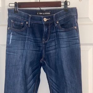 Express Bell Flare Mid Rise Jeans